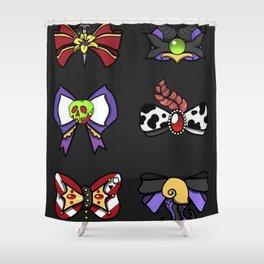 Villains Bows Shower Curtain