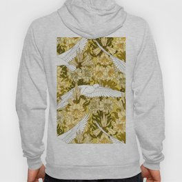 Doves and lilies Hoody