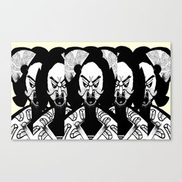 No Faces watching you v2 Canvas Print