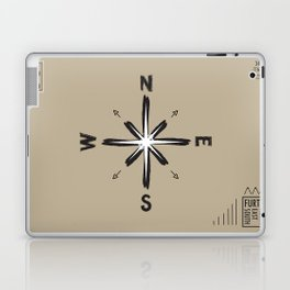 Further West / Further North / Further East / Further South Laptop & iPad Skin