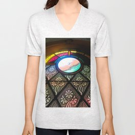 Ornate Window Unisex V-Neck