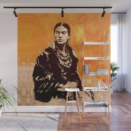 FRIDA KAHLO - the mistress of ARTs - quote Wall Mural