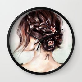 Gaze ii Wall Clock