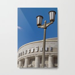 Volksbühne - Theater - Rosa-Luxemburg-Platz - Berlin - Germany  Metal Print