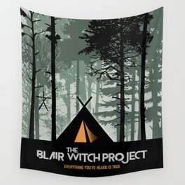 The Blair Witch Project - Alternative Movie Poster Wall Tapestry