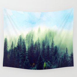 Spring forest Wall Tapestry