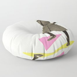 Shapely Figure Floor Pillow