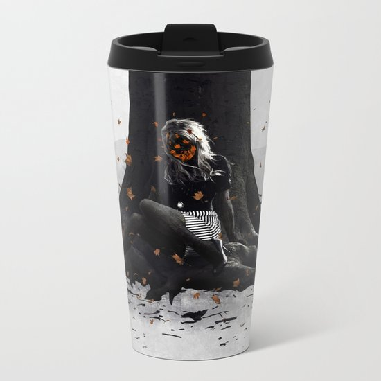 Halloween Metal Travel Mug