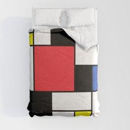 De Stijl Neoplastic Art Comforters