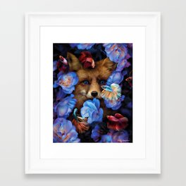 i found you without even looking. Framed Art Print