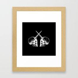 Unicorn Skulls 2 Framed Art Print