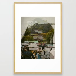 The Desperate Search for Symmetry Framed Art Print