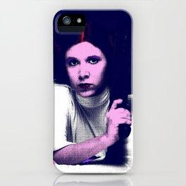 Princess Leia Pop Art iPhone Case