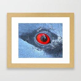 Through an animals eye Framed Art Print