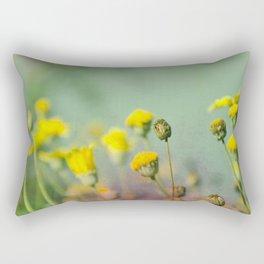 Yellow nostalgia Rectangular Pillow