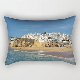 Albufeira in winter Rectangular Pillow