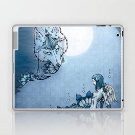 Juliana & The Wolf Spirit Laptop & iPad Skin