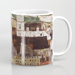 Egon Schiele - Stone on the Danube Coffee Mug