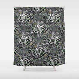 Celtic Birds Knot Work 3D Shower Curtain