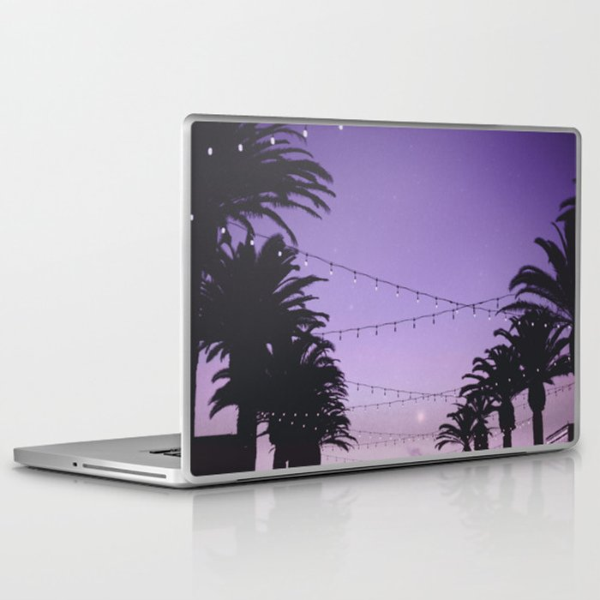 Tropical Summer Night Laptop & iPad Skin