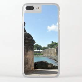 San Juan,fortress Clear iPhone Case