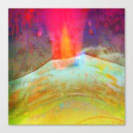 Volcanic Eruption II Canvas Print