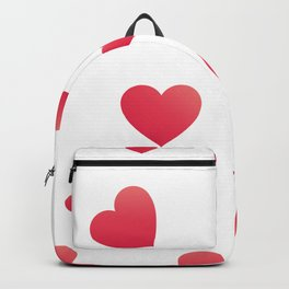 Elegant Valentine's Day hearts Backpack