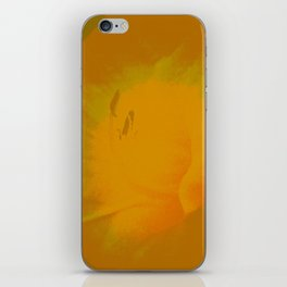 Day Lily Abstract iPhone Skin
