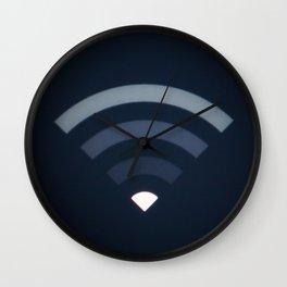 Wifi symbol signal LCD screen Wall Clock