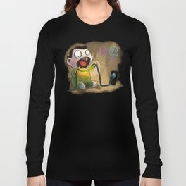 Babies like to bite stuff Long Sleeve T-shirt