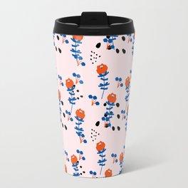 Illustrated Garden Pattern Travel Mug