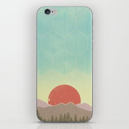 Mountain Sunrise iPhone Skin