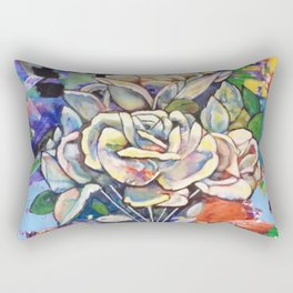 Flowers for You - by Toni Wright Rectangular Pillow