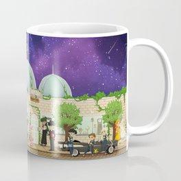 Silver Millennium Retro Cafe Coffee Mug