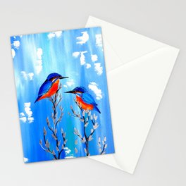 Kingfishers Stationery Cards
