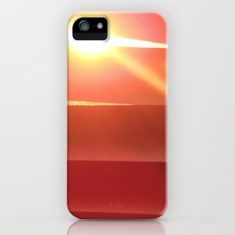 Stalking the sunset iPhone Case