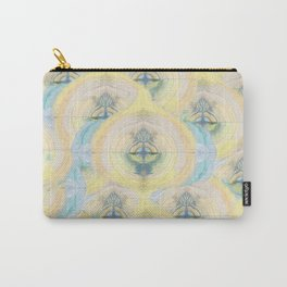 Tree of life- hand painted-3d effect-pastel colors Carry-All Pouch