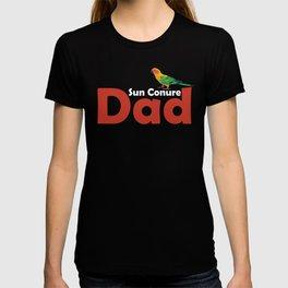 Sun Conure Dad Awesome Sun Conure Lover Shirt T-shirt