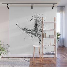 Birds/Egretta Alba Wall Mural