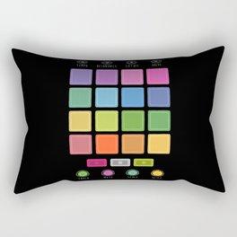 Dj Electronic Music Rectangular Pillow