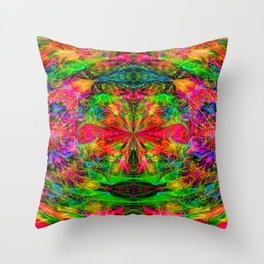 Hazy Visions IV Throw Pillow