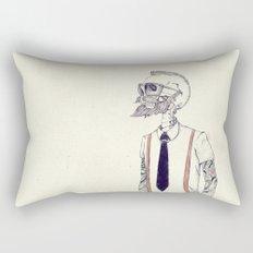 The Gentleman becomes a Hipster  Rectangular Pillow