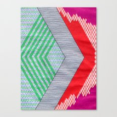 Isometric Harlequin #8 Canvas Print