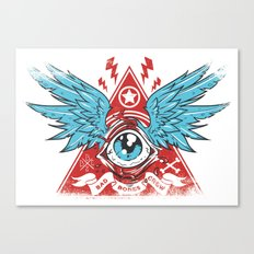 Pyramid Eye Canvas Print