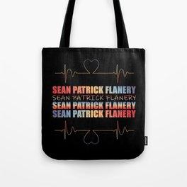 Flanery Heart Beat Tote Bag