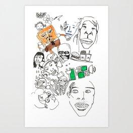 Untitled (001) Art Print