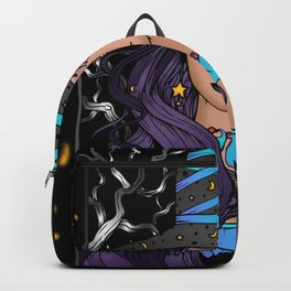 Gothic Witch Girl Backpack