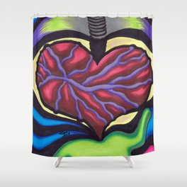 I Love You - Mazuir Ross Shower Curtain