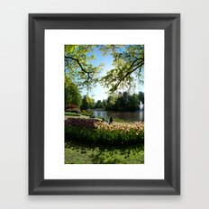 Keukenhof, Netherlands Framed Art Print