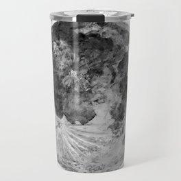 Watercolour Moon (Canvas) Travel Mug